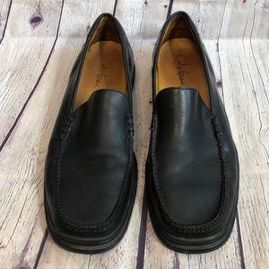 Cole Haan Nike Air black slip on shoes siz…